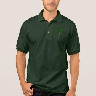 Happy St. Patrick's Day! Shamrock Irish Clover Polo Shirt