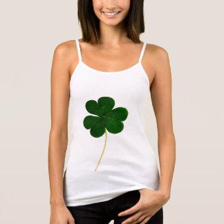 Happy St. Patrick's Day! Shamrock Irish Clover Singlet
