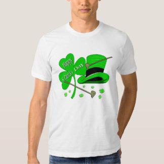 Happy St Patrick's Day Shamrock T-Shirt