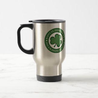 Happy St. Patricks Day Travel Mug