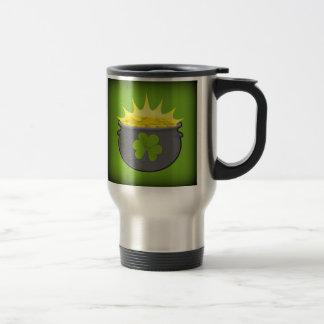 Happy St. Patrick's Day! Travel Mug