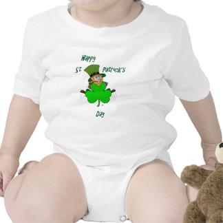Happy St Patrick's Day Bodysuits