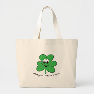 Happy St Patricks s day Canvas Bags