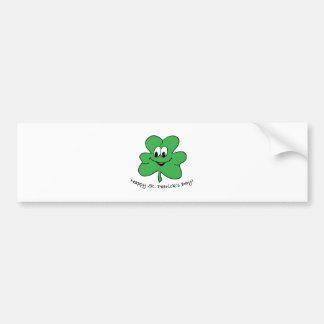 Happy St Patricks s day Bumper Sticker