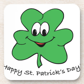 Happy St Patricks s day Drink Coasters
