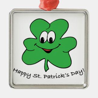 Happy St Patricks s day Christmas Ornament