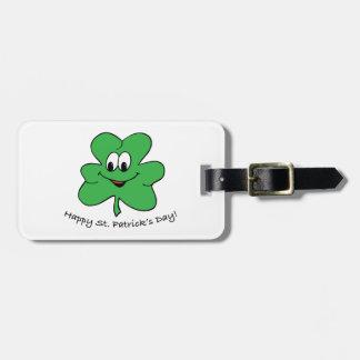 Happy St Patricks s day Travel Bag Tags