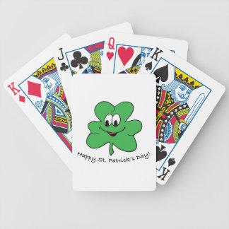 Happy St Patricks s day Card Decks
