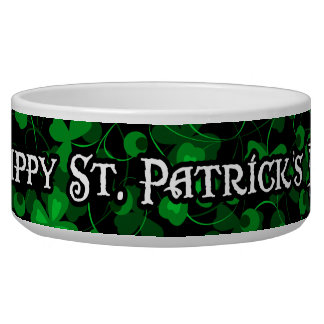 Happy St. Patricl's Day 1 Pet Bowl