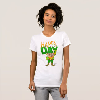 Happy St.Patrict's day, t-shirt for woman.