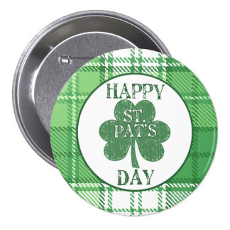 Happy St. Pat's Day Button