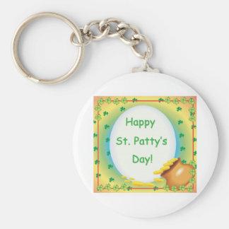 Happy St Patty apos s Day Keychains