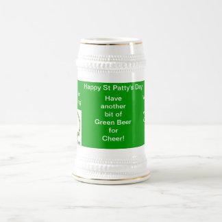 Happy St Patty s Day Beer Stein Mug