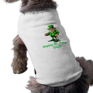 Happy St Patty s Day Dog Shirt Pet Tee Shirt