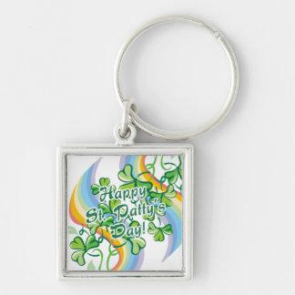Happy St Patty s Day Keychain