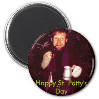 Happy St Patty s Day Refrigerator Magnet
