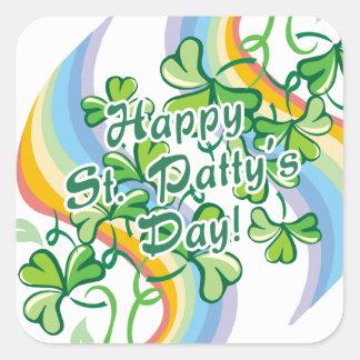 Happy St Patty s Day Square Sticker