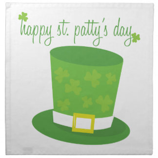 Happy St Pattys Napkins