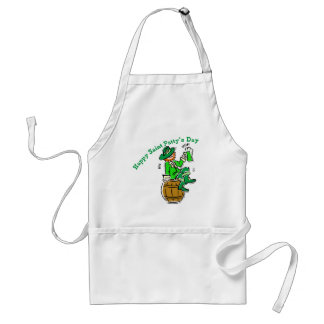 Happy St Patty's Day Adult Apron