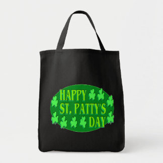 HAPPY ST. PATTY'S DAY TOTE BAGS