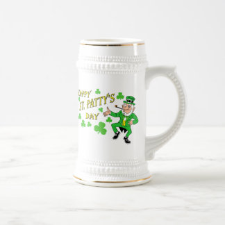 Happy St Patty's Day Beer Stein