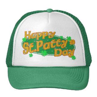 Happy St Patty's Day Cap