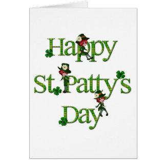 Happy St. Patty's Day Greeting Card