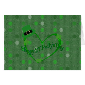 Happy ST Pattys Day Greeting Card
