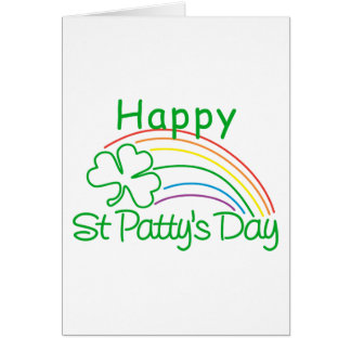 Happy St Patty's Day Greeting Card