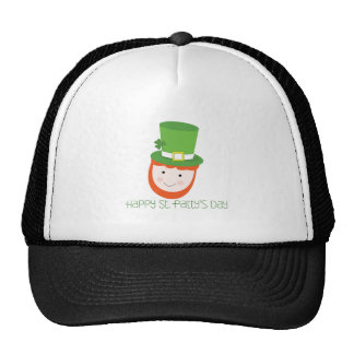 Happy St. Patty's Day Mesh Hat