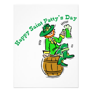 Happy St Patty's Day Custom Announcements