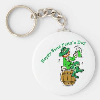 Happy St Patty's Day Keychains
