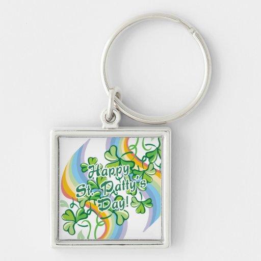 Happy St. Patty's Day Keychain