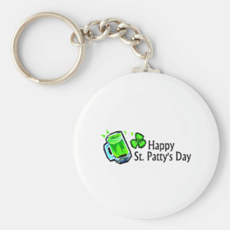 Happy St Pattys Day Key Chain