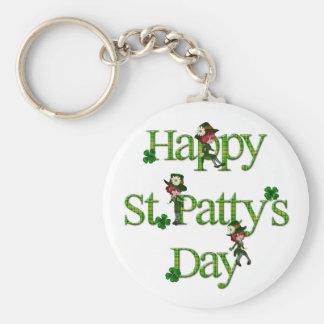 Happy St. Patty's Day Key Chains