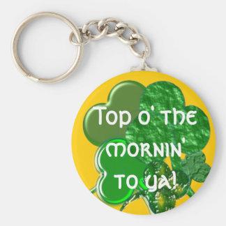 Happy St. Patty's Day - Keychain - Personalize