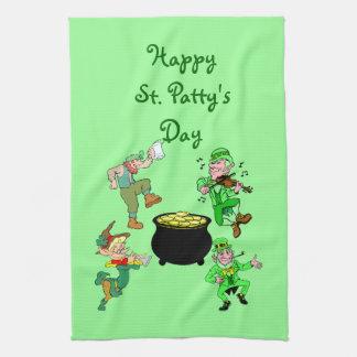 Happy St. Patty's Day Kitchen Towel