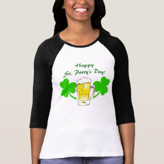 Happy St. Patty's Day! Lucky Shamrocks T- Shirt