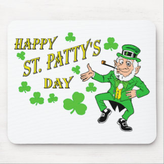 Happy St Patty's Day Mouse Pads