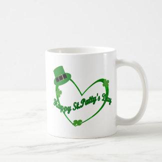 Happy ST Pattys Day Classic White Coffee Mug
