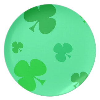Happy St. Pattys Day Plate