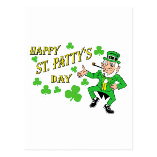Happy St Patty's Day Post Card