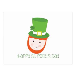 Happy St. Patty's Day Postcard