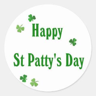 Happy St Patty's Day Sticker