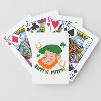 Happy St. Pattys Poker Deck