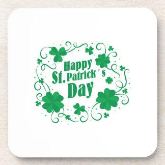 Happy St Saint Patrick's Day Coaster