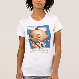 Happy St. Valentine's Day Cupid  t shirt