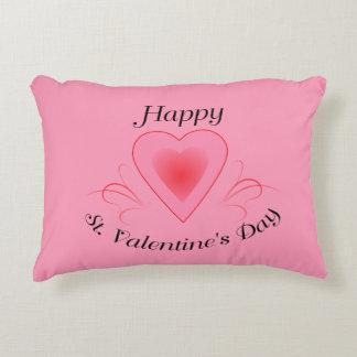 Happy St. Valentine's Day Pillow