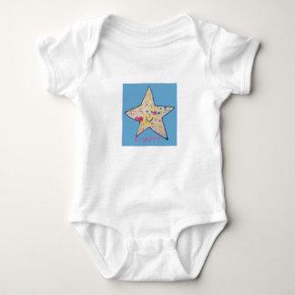 Happy Star Baby Bodysuit