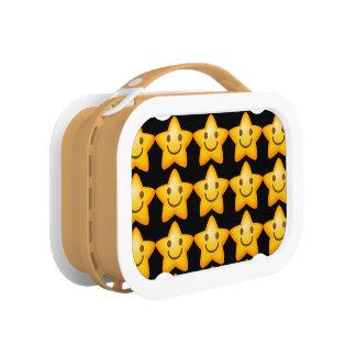 Happy Star Emoji Lunch Box